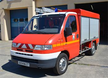 Véhicule de première intervention, Sapeurs-pompiers, Eure (27)