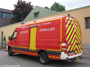 Véhicule de secours animalier, Sapeurs-pompiers, Yvelines