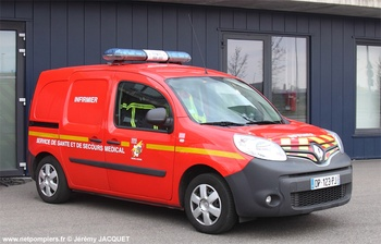 Véhicule léger infirmier, Sapeurs-pompiers, Bas-Rhin (67)
