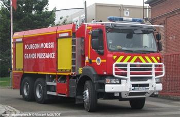 Véhicule mousse, Sapeurs-pompiers, Somme (80)