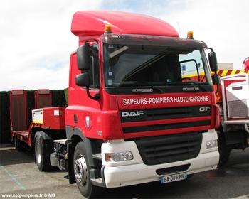 Véhicule tracteur, Sapeurs-pompiers, Haute-Garonne (31)