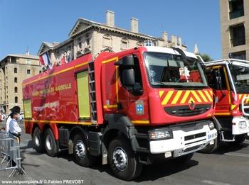 Camion-citerne de grande capacité, Marins-pompiers de Marseille, Bouches-du-Rhône (13)