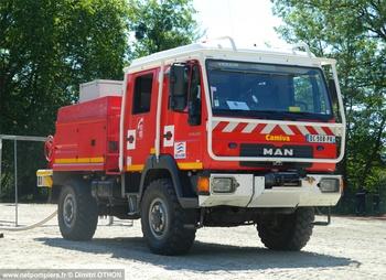 <h2>Camion-citerne pour feux de forêts - Vierzon - Cher (18)</h2>