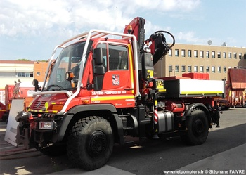 Camion-grue, Sapeurs-pompiers, Var (83)