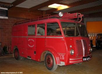 <h2>Fourgon d'incendie normalisé - Saint-Hilaire-du-Harcouët - Manche (50)</h2>