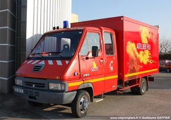 Véhicule atelier, Sapeurs-pompiers, Côte-d'Or (21)