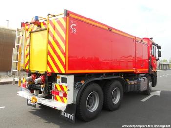 Camion-citerne de grande capacité, Sapeurs-pompiers, Manche (50)