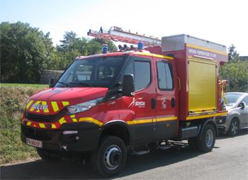 Véhicule de première intervention, Sapeurs-pompiers, Eure-et-Loir (28)
