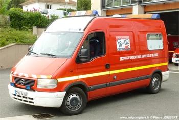 <h2>Véhicule de secours et d'assistance aux victimes - Figeac - Lot (46)</h2>