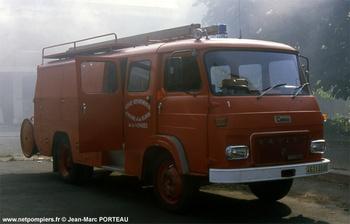 Fourgon d'incendie, Sapeurs-pompiers, Vendée (85)