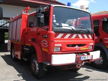<h2>Fourgon-pompe tonne - Villeneuve-sur-Lot - Lot-et-Garonne (47)</h2>