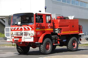 Camion-citerne pour feux de forêts, Sapeurs-pompiers, Pas-de-Calais