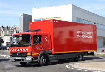 Véhicule pour interventions à risques technologiques, Sapeurs-pompiers, Pas-de-Calais