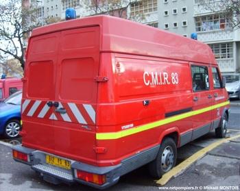 Véhicule pour interventions à risques technologiques, Sapeurs-pompiers, Var (83)