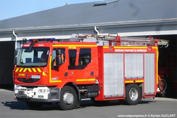 Fourgon-pompe tonne secours routier, Sapeurs-pompiers, Morbihan (56)