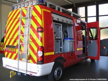 Fourgon de secours, Sapeurs-pompiers, Bas-Rhin (67)