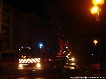 Echelle pivotante, Sapeurs-pompiers, Vendée (85)