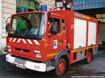 Véhicule de secours routier, Sapeurs-pompiers, Aisne
