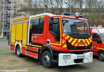 Fourgon-pompe tonne, Sapeurs-pompiers, Haute-Garonne (31)