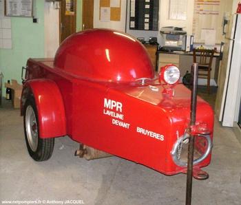 Motopompe remorquable, Sapeurs-pompiers, Vosges (88)