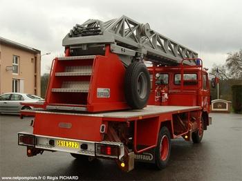 Echelle pivotante, Sapeurs-pompiers, Eure (27)