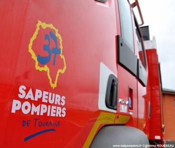Camion-citerne rural, Sapeurs-pompiers, Indre-et-Loire (37)