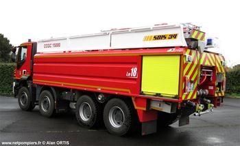 Camion-citerne de grande capacité, Sapeurs-pompiers, Hérault (34)