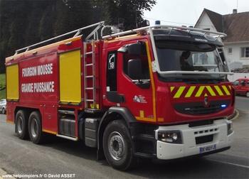 Véhicule mousse, Sapeurs-pompiers, Pas-de-Calais (62)
