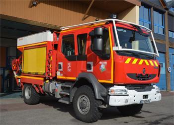 Camion-citerne rural, Sapeurs-pompiers, Eure (27)