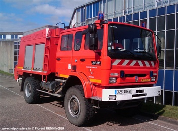 Camion-citerne rural, Sapeurs-pompiers, Moselle