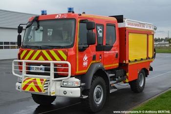 Camion-citerne rural, Sapeurs-pompiers, Orne (61)