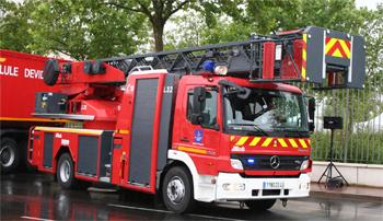 Echelle pivotante, Sapeurs-pompiers, Loiret