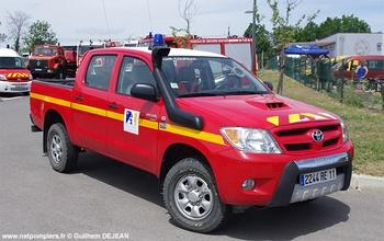 Véhicule de liaison, Sapeurs-pompiers, Aude (11)