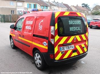 Véhicule radio médicalisé, Sapeurs-pompiers, Moselle (57)