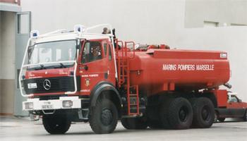 Camion-citerne d'attaque, Marins-pompiers de Marseille, Bouches-du-Rhône (13)