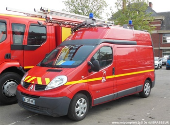 Véhicule pour interventions diverses, Sapeurs-pompiers, Calvados (14)