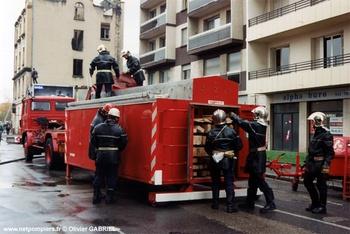 Cellule de sauvetage déblaiement, Sapeurs-pompiers, Rhône (69)