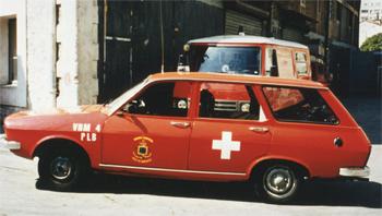Véhicule radio médicalisé, Marins-pompiers de Marseille,  ()