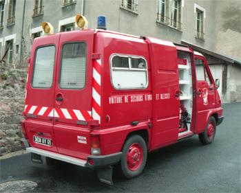 Véhicule de secours et d'assistance aux victimes, Sapeurs-pompiers, Rhône (69)