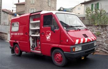 Véhicule de secours et d'assistance aux victimes, Sapeurs-pompiers, Rhône