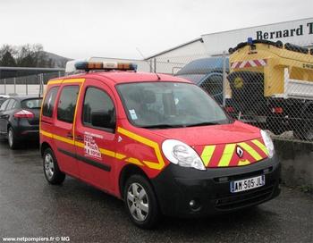 Véhicule léger infirmier, Sapeurs-pompiers, Haute-Savoie (74)