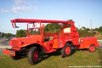 <h2>Camionnette d'incendie - Carnac - Morbihan (56)</h2>