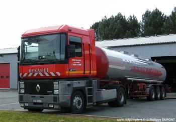 Véhicule tracteur, Sapeurs-pompiers, Lot-et-Garonne (47)