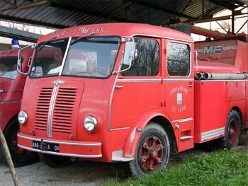 Camion-citerne d'incendie, Sapeurs-pompiers, Ariège (09)