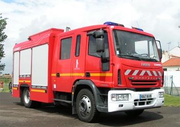 Fourgon-pompe tonne, Sapeurs-pompiers, Vendée (85)