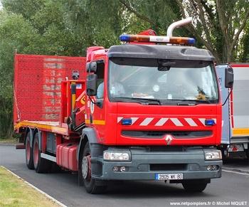 Véhicule porte-cellule, Sapeurs-pompiers, Somme (80)