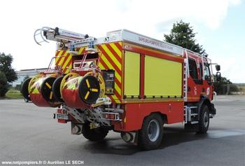 Camion-citerne rural, Sapeurs-pompiers, Ille-et-Vilaine (35)
