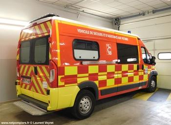 <h2>Véhicule de secours et d'assistance aux victimes - Le Pont-de-Beauvoisin - Isère (38)</h2>