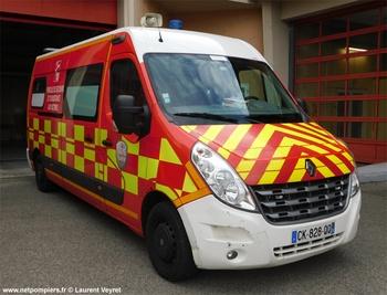 <h2>Véhicule de secours et d'assistance aux victimes - Morestel - Isère (38)</h2>