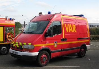 Véhicule  d'assistance respiratoire, Sapeurs-pompiers, Sarthe (72)